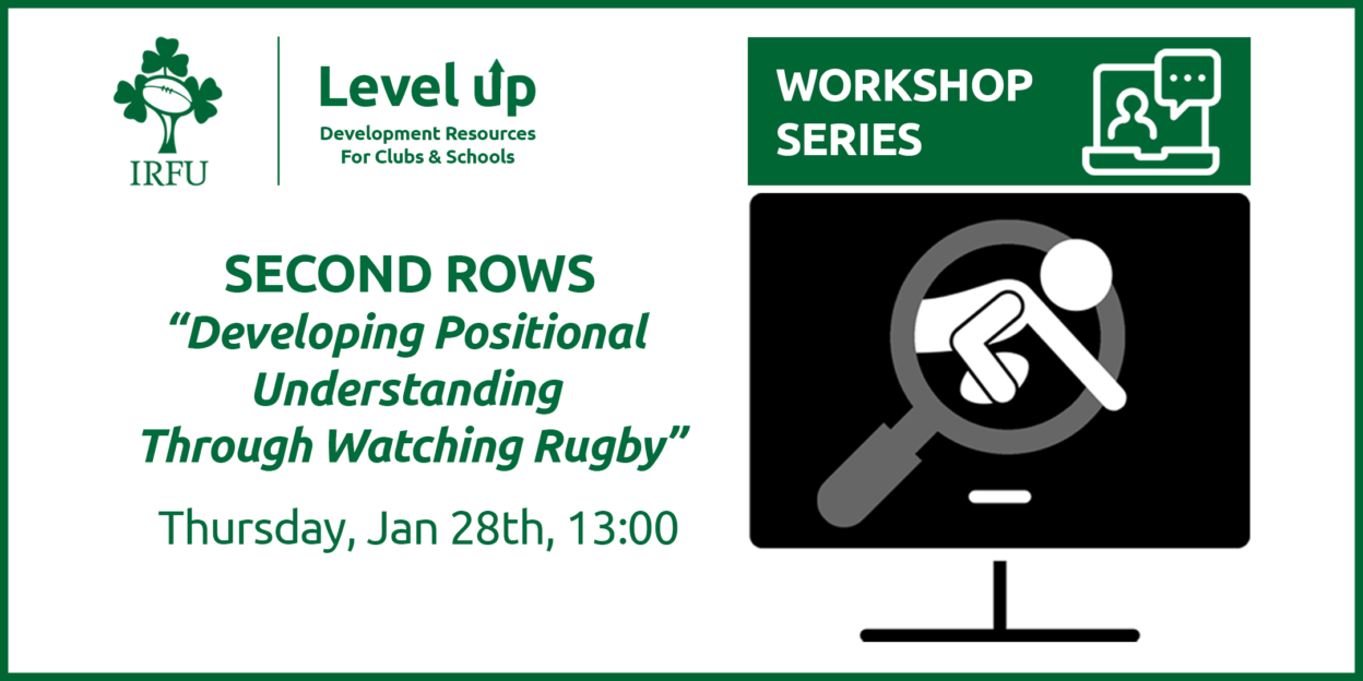 Second Rows: Level Up Player Workshop Line Up Confirmed