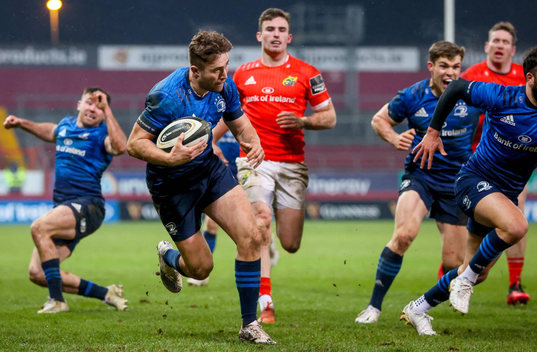 Munster Let Lead Slip As Larmour Strikes Decisive Blow
