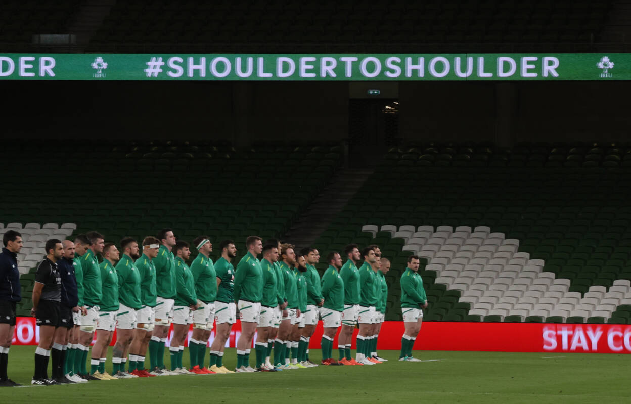 Inside Ireland's Guinness Six Nations Bubble