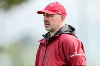 Malone Steps Down From Munster Rugby Role