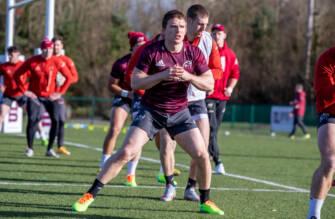 Conway Returns For Munster's Edinburgh Trip