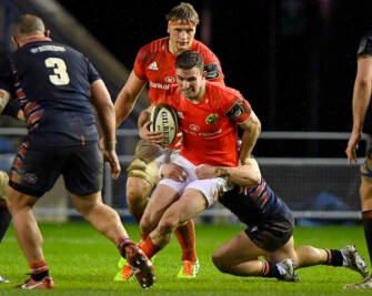 Forwards Set The Tone For Munster's Murrayfield Success