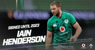 Iain Henderson Signs IRFU Contract Extension