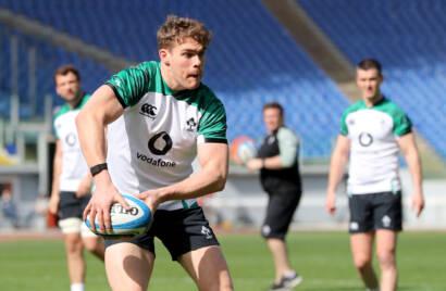 Ireland Captain's Run In Rome