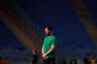 Andy Farrell Looks Ahead To Scotland Challenge