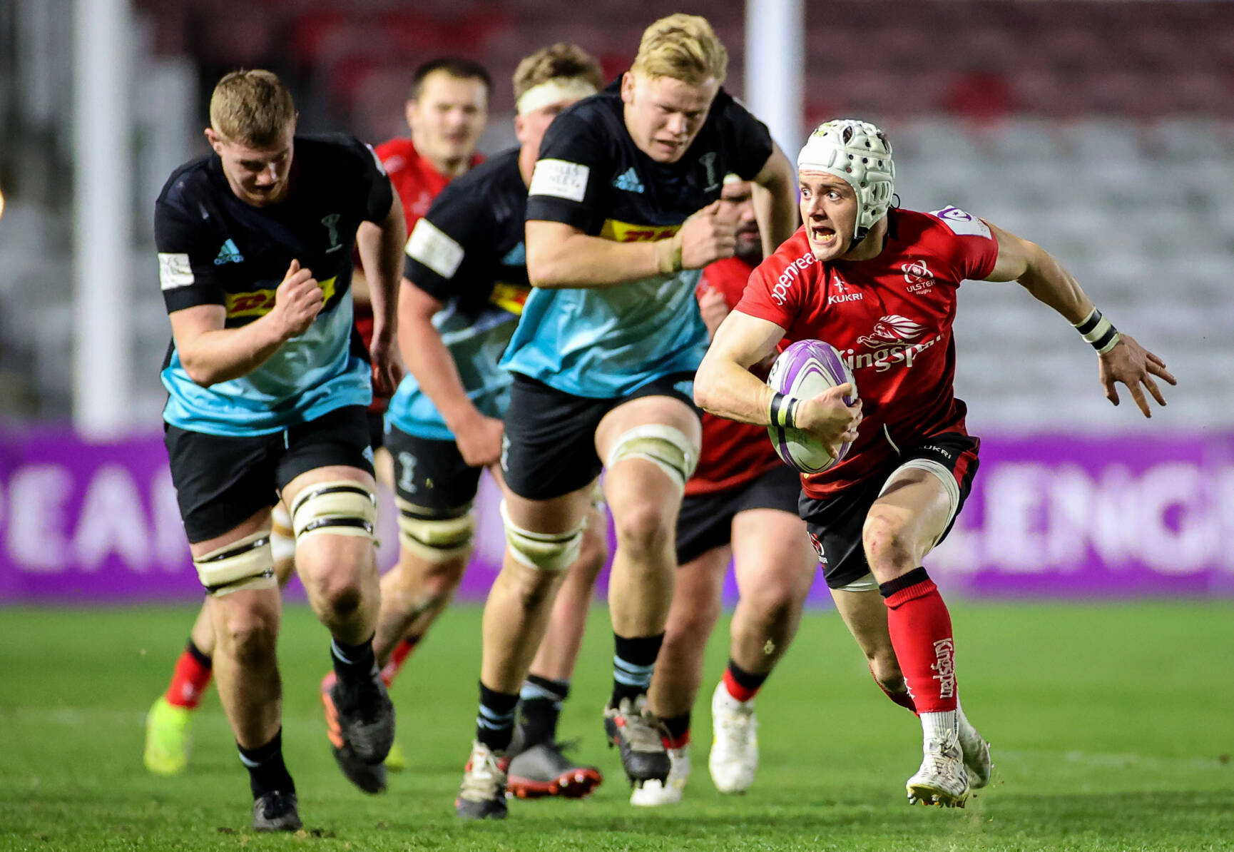 Ulster Mark Challenge Cup Bow With Eight-Try Win