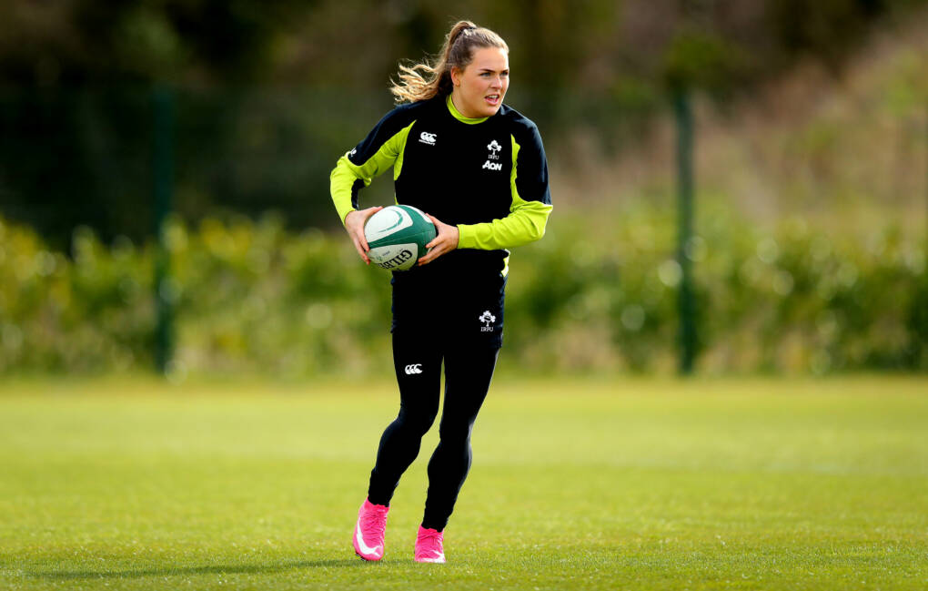 Ireland Finalise Preparations For Women's Six Nations Opener