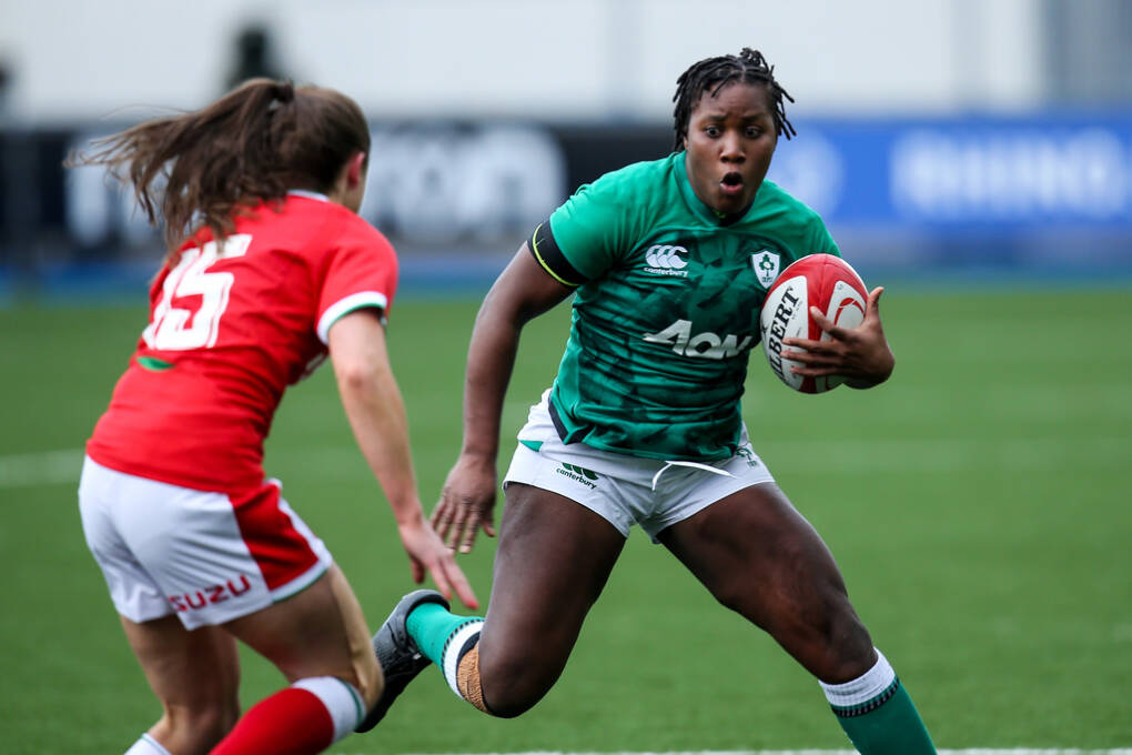 Ireland Kick Off Women's Six Nations With 7 Try Win In Wales
