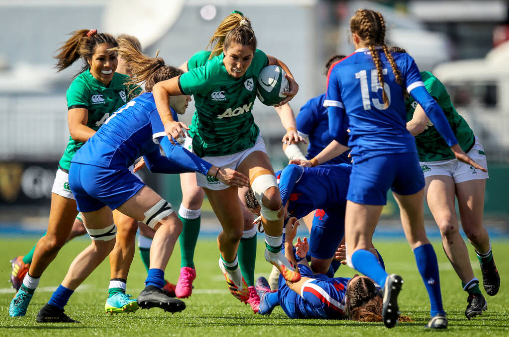 Ireland Well Beaten By Powerful French Team