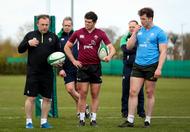 Ireland U20 Talent Camp At IRFU HPC
