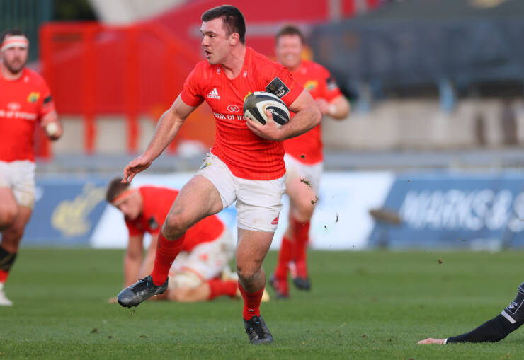 Gallagher Returns At Full-Back For In-Form Munster
