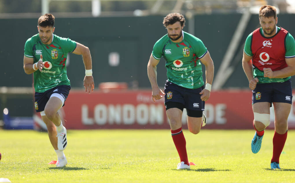 Lions Training In Jersey