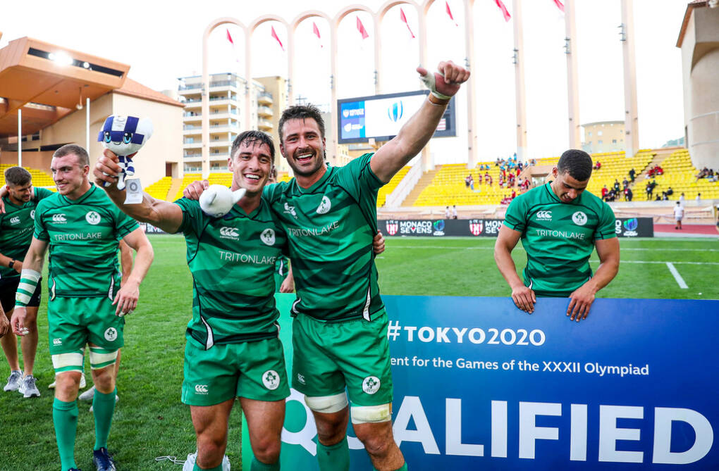 Ireland Men's Sevens Qualify For Olympics