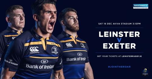 Leinster v Exeter