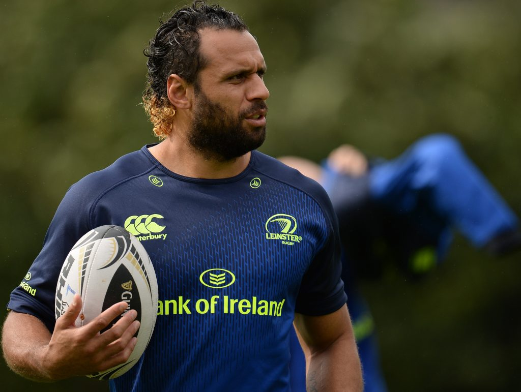 Isa Nacewa - set for 150th Leinster game