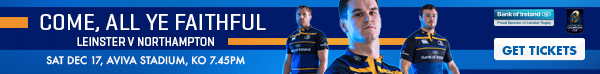 Leinster v Northampton