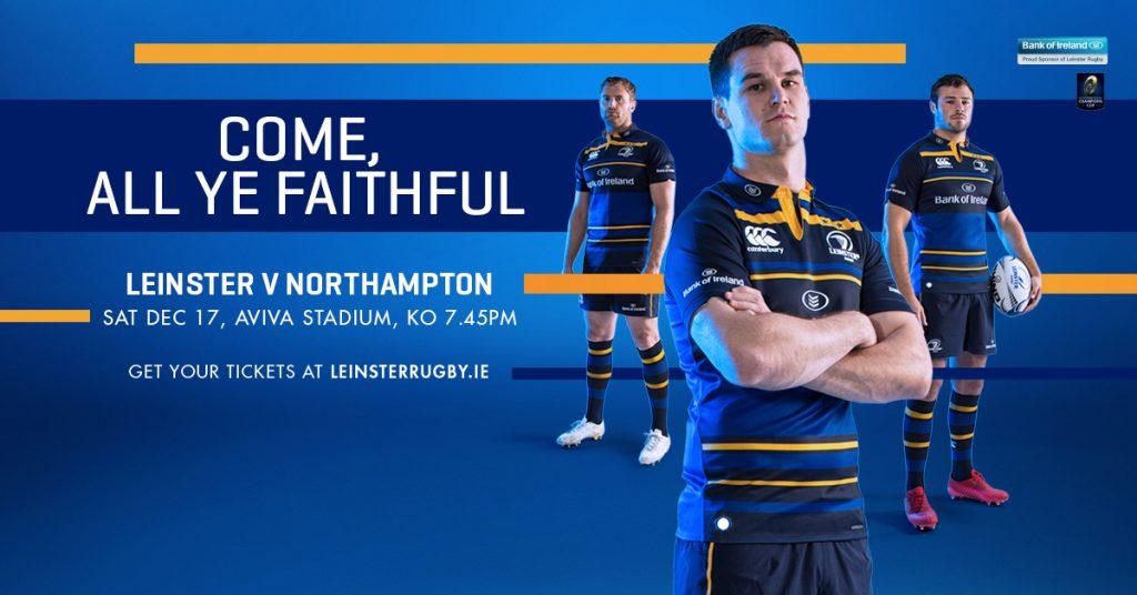 Leinster v Northampton