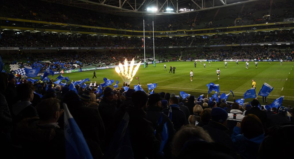 Leinster Aviva Stadium