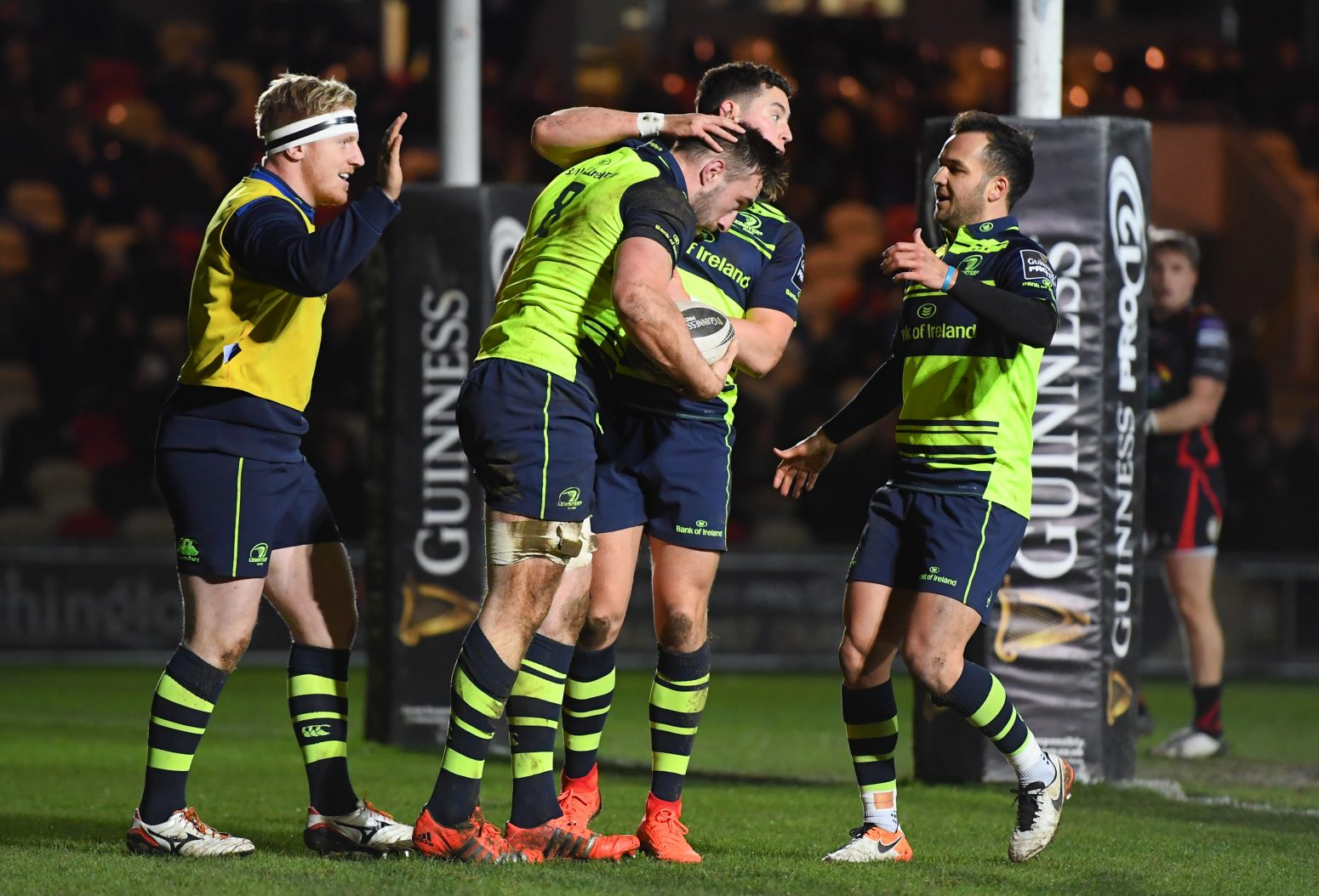 Leinster Rugby try