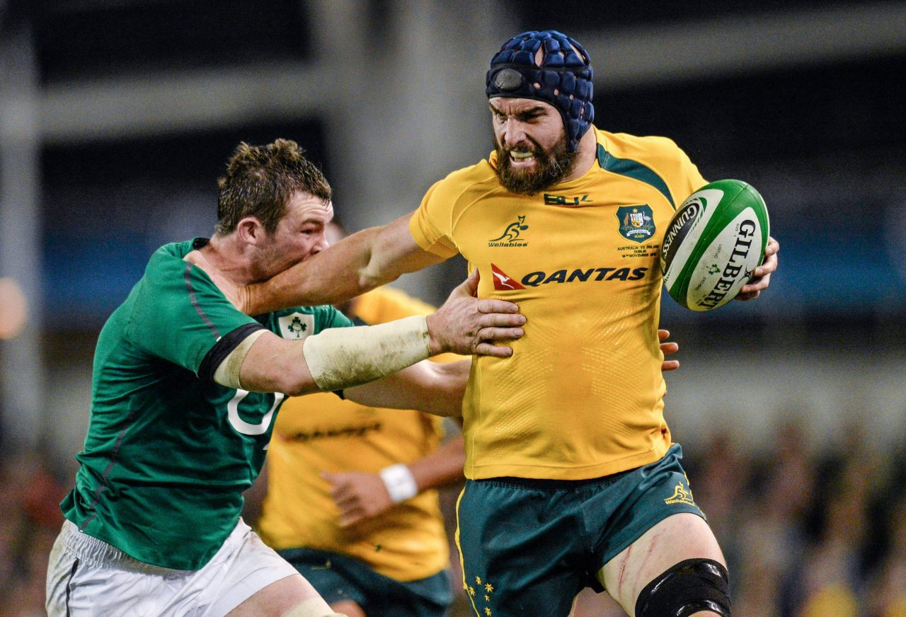 Australian Forward Scott Fardy Signs For Leinster