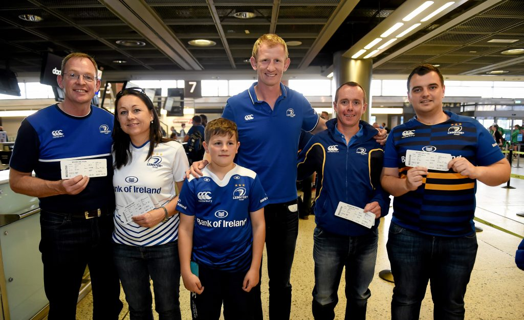 Leinster Rugby travel