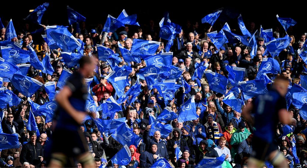Leinster supporters