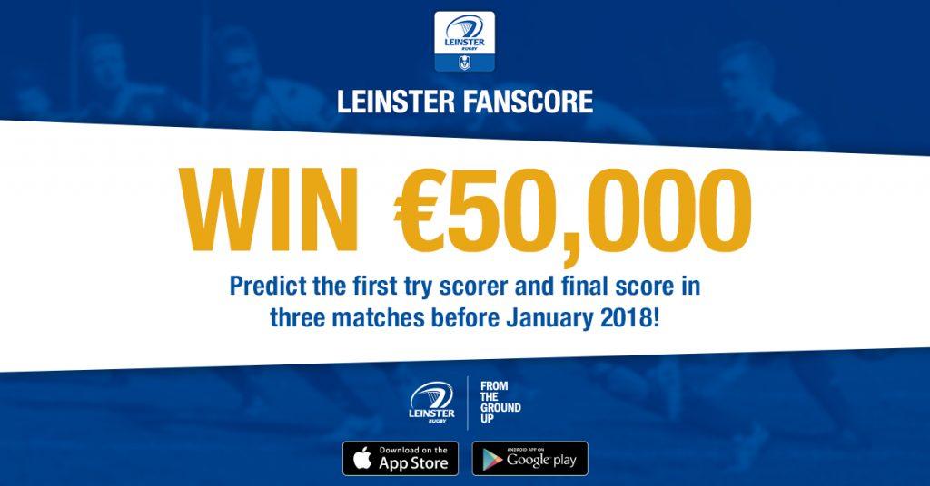 Leinster FanScore app