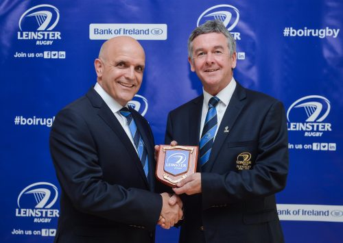 Niall Rynne Elected Leinster Rugby President