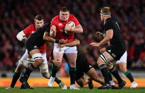 All Blacks Win First Test Against Lions