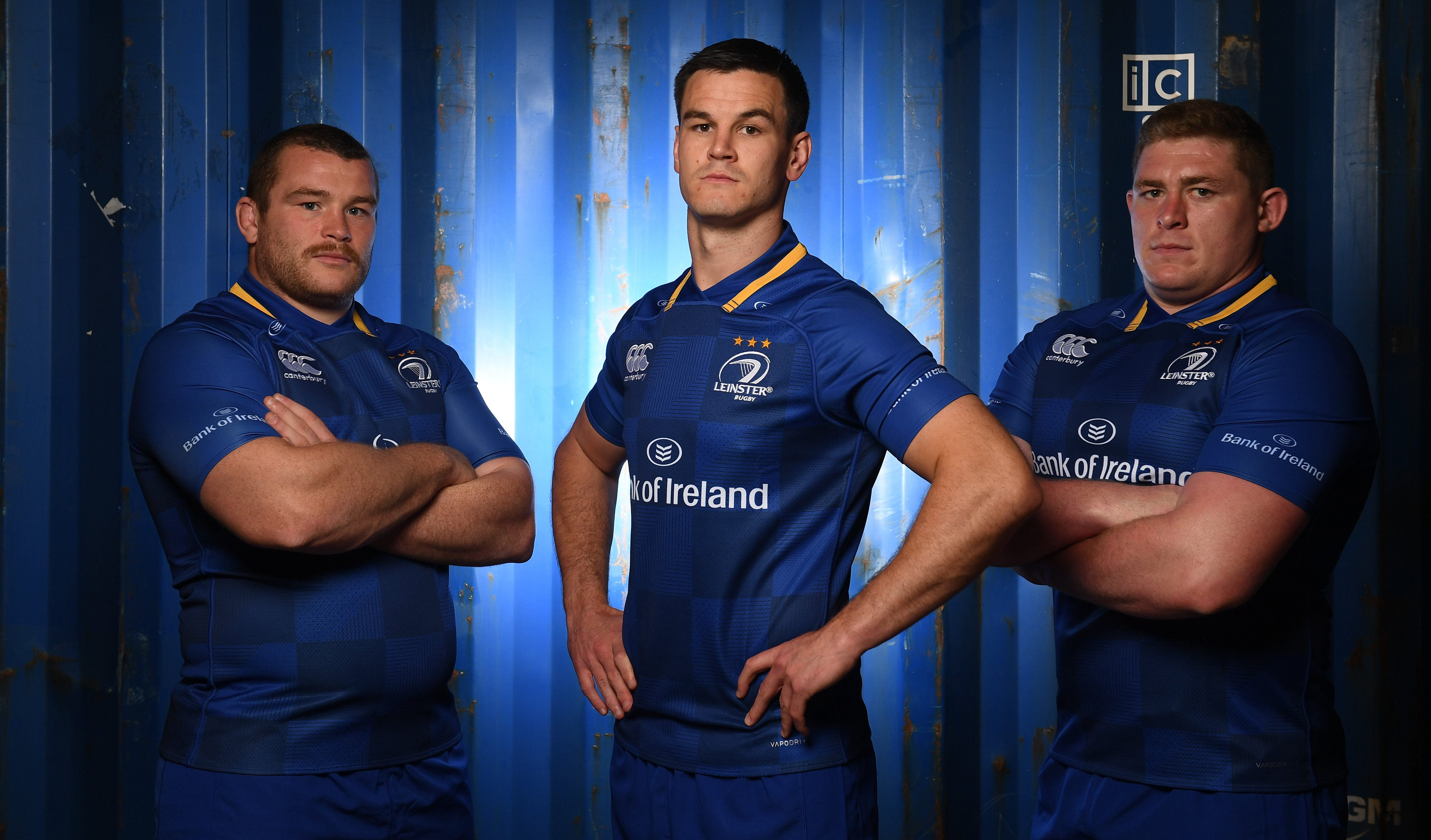312c378e3 Leinster Rugby | VIDEO: Behind the scenes at the photoshoot for the new home  jersey