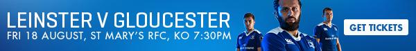 Leinster v Gloucester