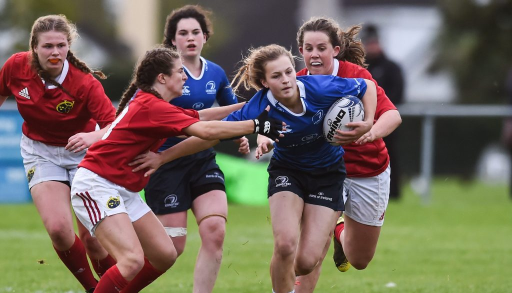 Leinster U18 Girls Megan Burns
