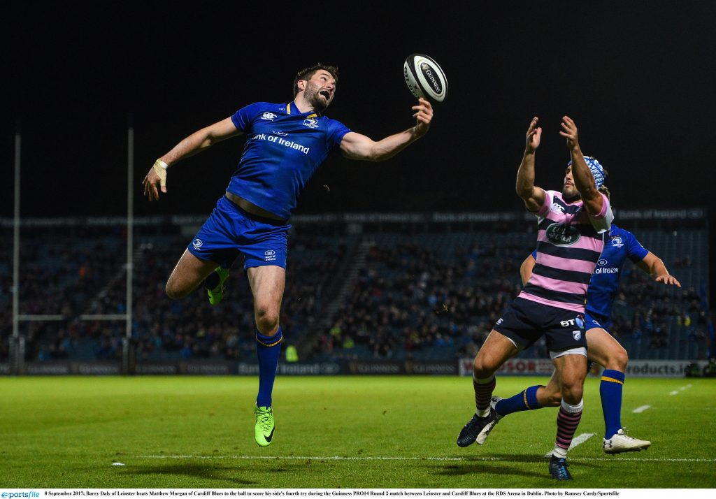 1f275a97a86 Cardiff were well in the contest for over an hour, trailing 16-9 before  Leinster replacements Sean Cronin, Barry Daly and Nick McCarthy scored  three tries ...