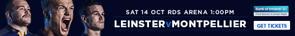 Leinster v Montpellier