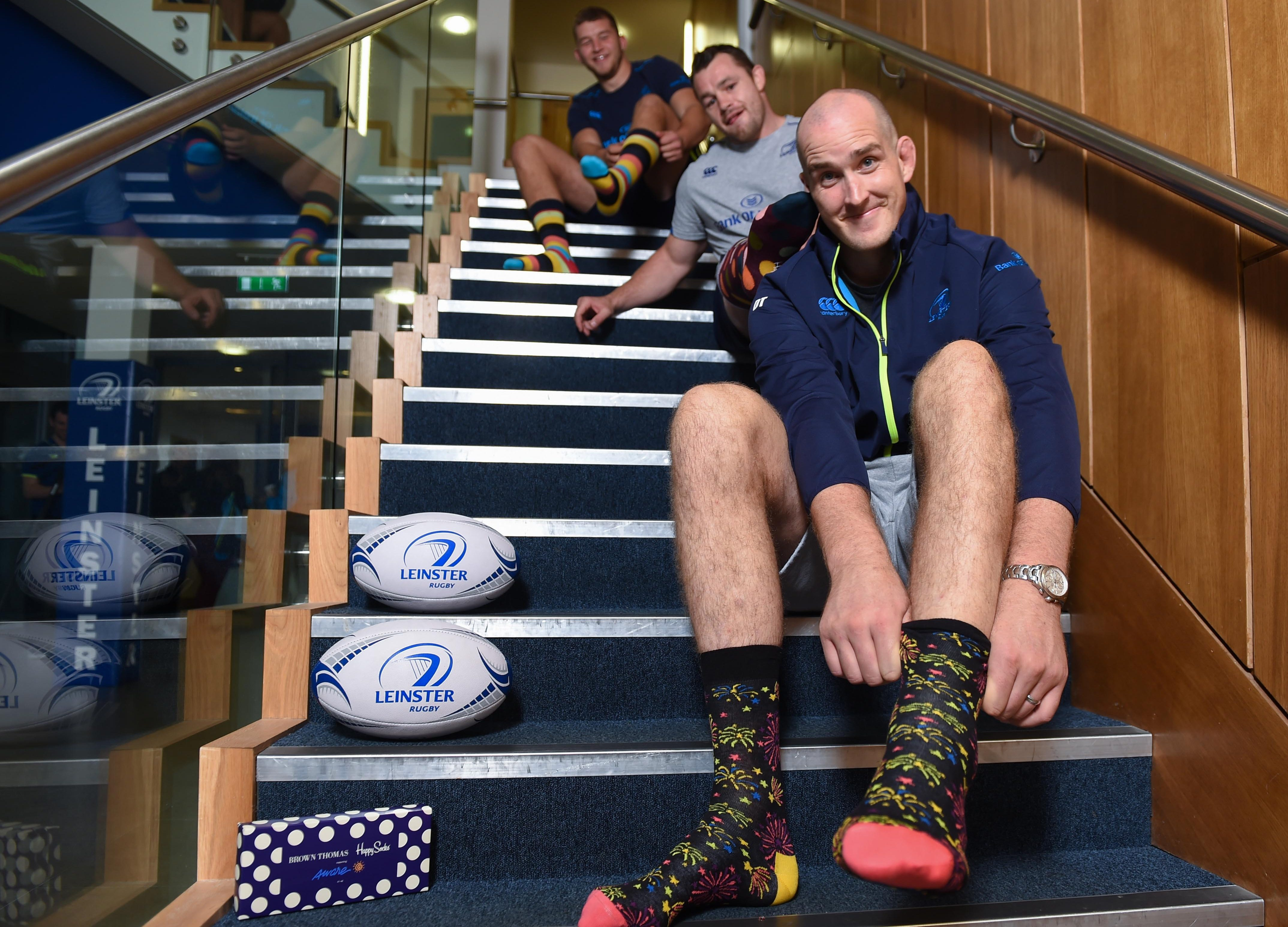 discount sale high quality new release Leinster Rugby   Leinster Rugby Supporting Aware Happy Socks ...