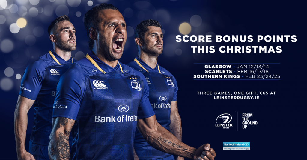 Leinster Rugby Christmas Gift Bundle