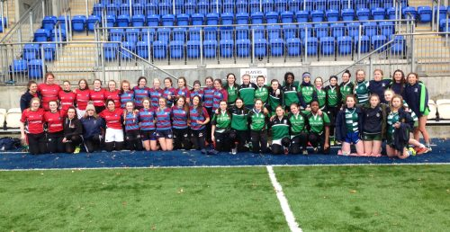 Sacred Heart Tullamore win fourth consecutive Leinster Schools Girls X7s Cup