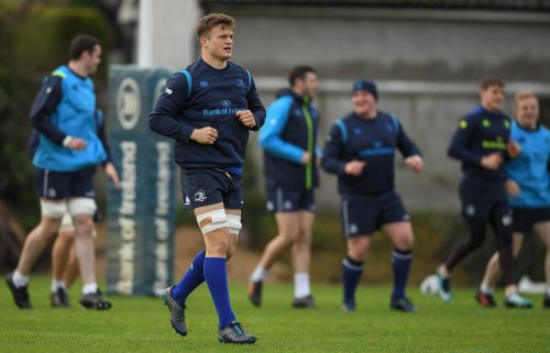 Cullen Makes One Change to Leinster XV