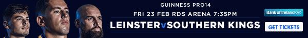 Leinster v Southern Kings