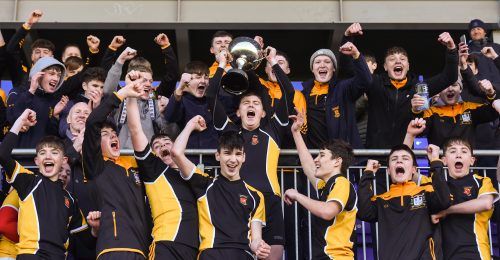 Pulsating Pat Rossiter Schools Cup Final sees Patrician Newbridge Come Out on Top