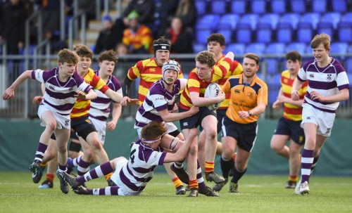 Clongowes Through to the Second Round of Junior Cup after Defeating Temple Carrig