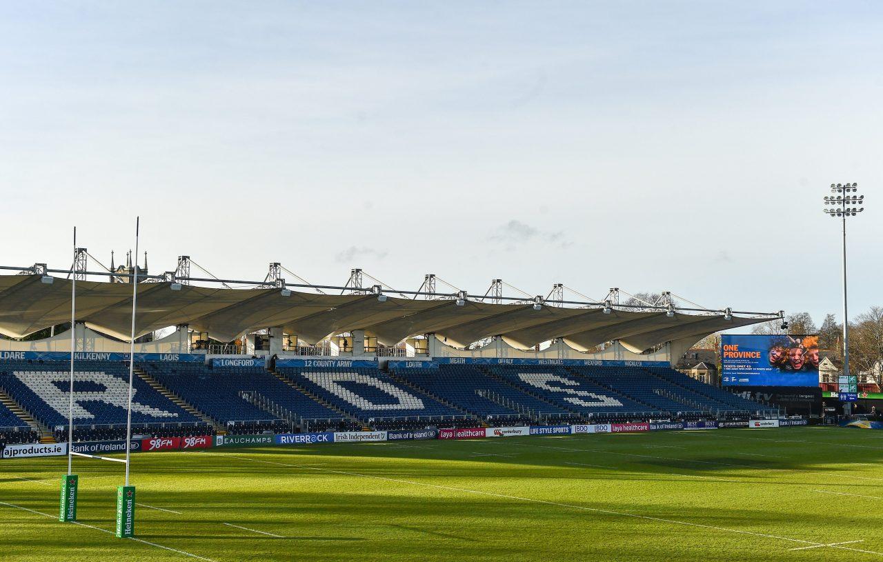 Global broadcast information: Leinster Rugby v Edinburgh Rugby