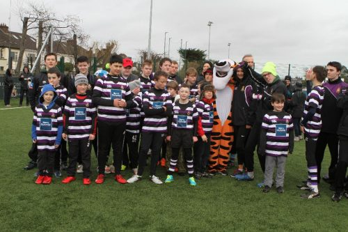 Over 200 Players enjoy Disability Tag Rugby Blitz at Terenure College RFC