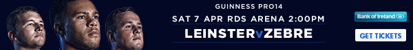 Leinster v Zebre