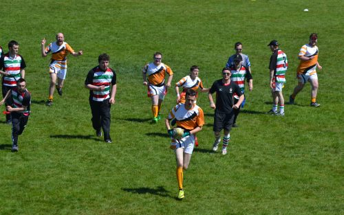 Greystones RFC host 430 Players at Disability Tag Rugby Festival
