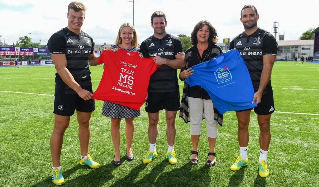 Leinster Rugby charity partners