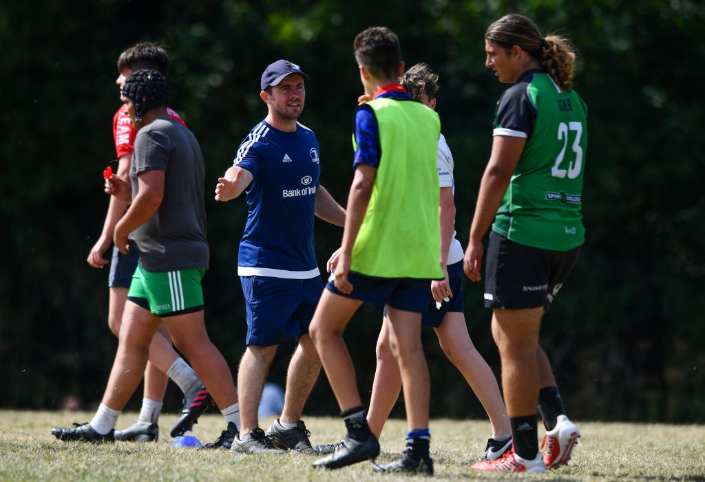 Leinster Rugby coaching courses