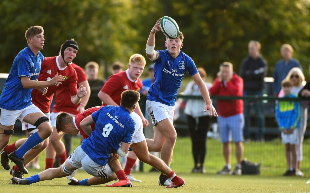 Leinster Rugby | Leinster U18 Schools Draw with Munster in