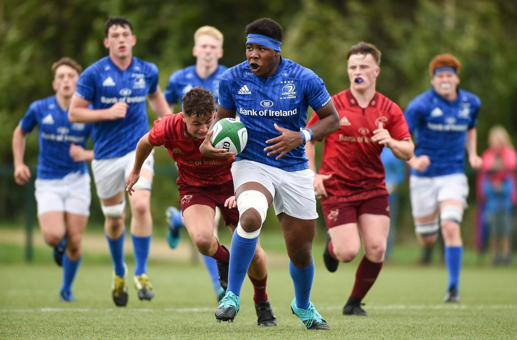 eca9be576 U18 Clubs impress in victory over Munster