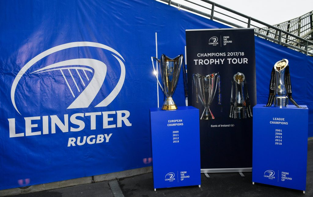 Leinster Rugby Trophy Tour